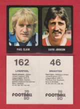Brighton Hove Albion Paul Clark & Liverpool David Johnson